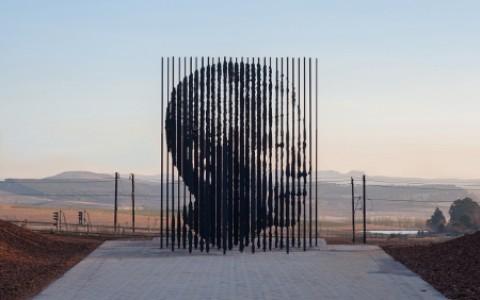 Mandela Image Scuplture